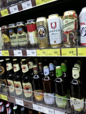 Товары на акции в сети магазинов Красное и Белое