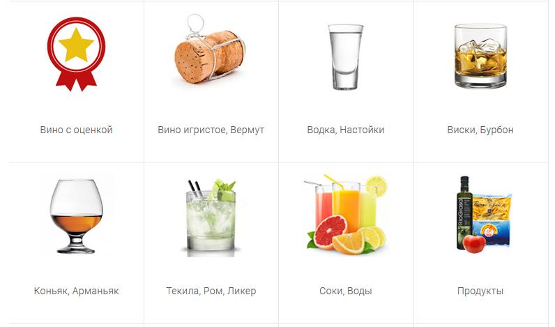 Каталог товаров в магазинах Воронежа